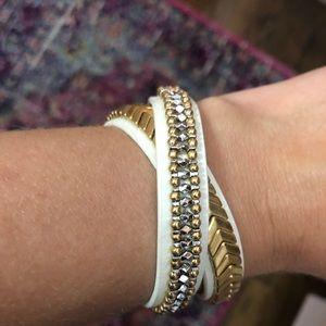 Stella & Dot Gilded Path Bracelet